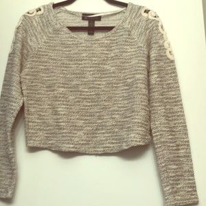 I. N. C. International Concepts cropped sweater
